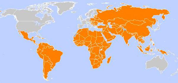 Risico gebieden (hepatitis A) - weekbericht 828 | Tiliander